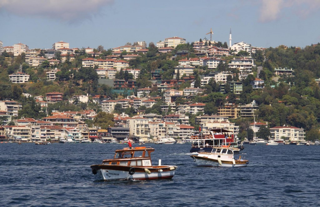 There is no Shortage of Small Boats in the Strait