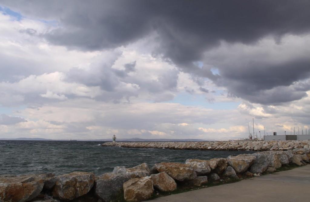 Heavy Clouds Darken the Sky