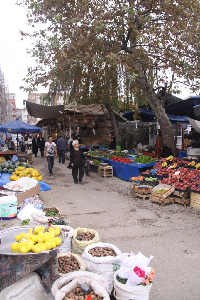 The Yalova Farmers Market is one of the Largest Food Markets we have Visited in Turkey