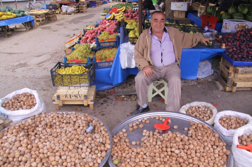 Walnuts are Plentiful in Many Areas of Turkey