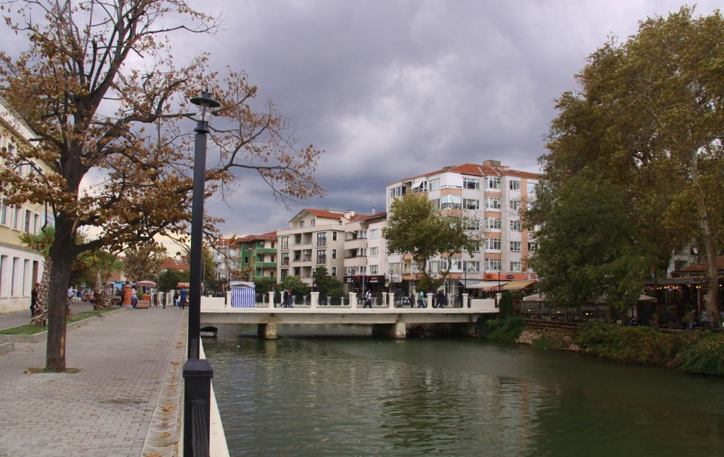 Yalova has a Pleasant Waterway Through the Town