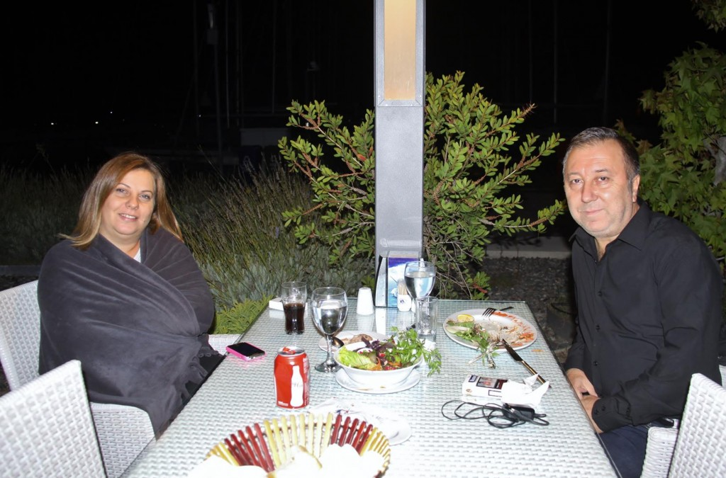An Anniversary Dinner for Fatih Genc and his Wife