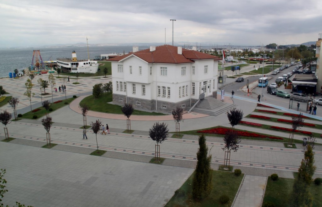 Great Views of the Town Square from the Karot Hotel
