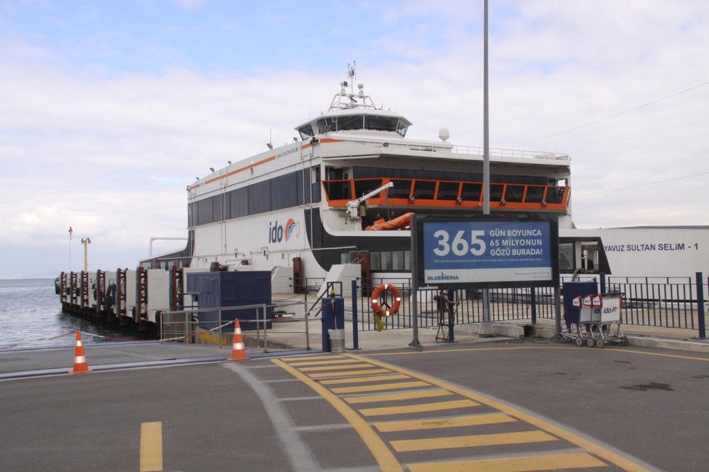 The Ferry to Yenikoy in Istanbul takes just over an Hour from Yalova