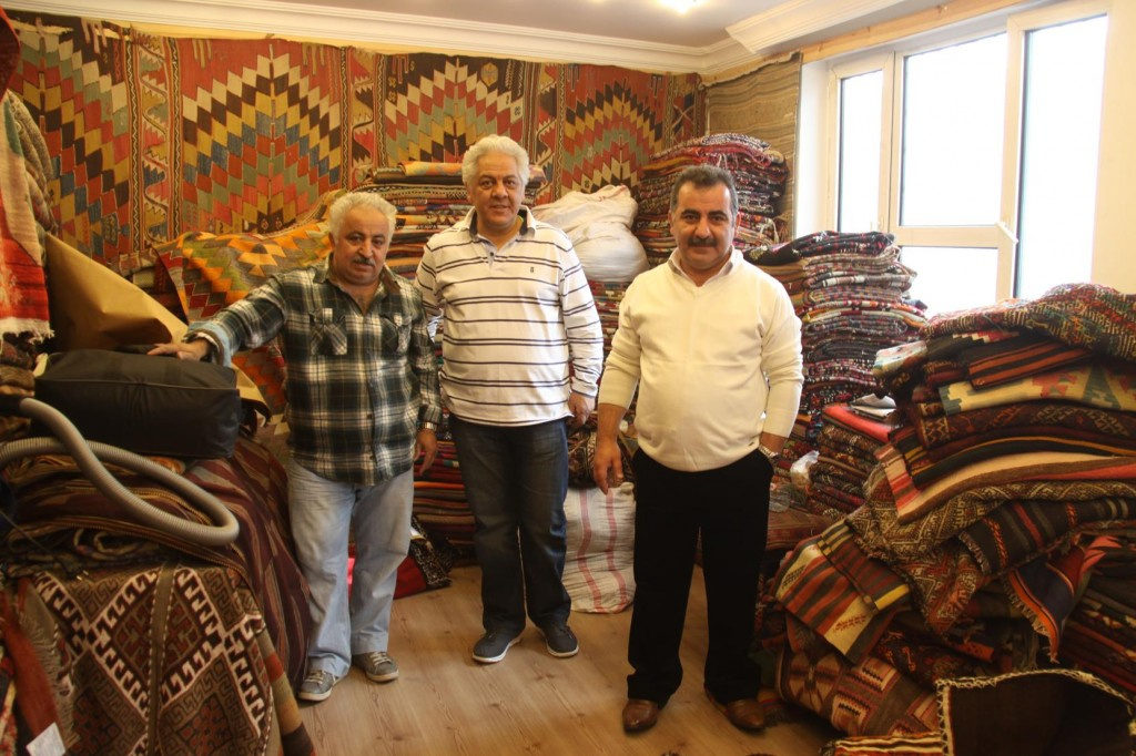 Our First Stop Today is to Visit a Familiar Carpet Shop near the Grand Bazaar