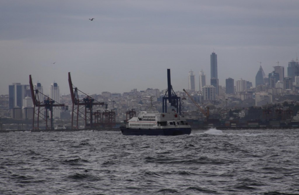 Kadikoy in the Marmara Sea is a very Industrial Area of Istanbul