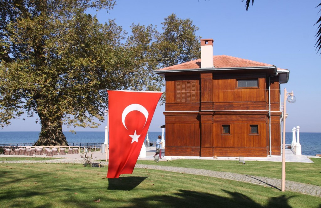 The Turkish Flag is Prominent Everywhere in Turkey