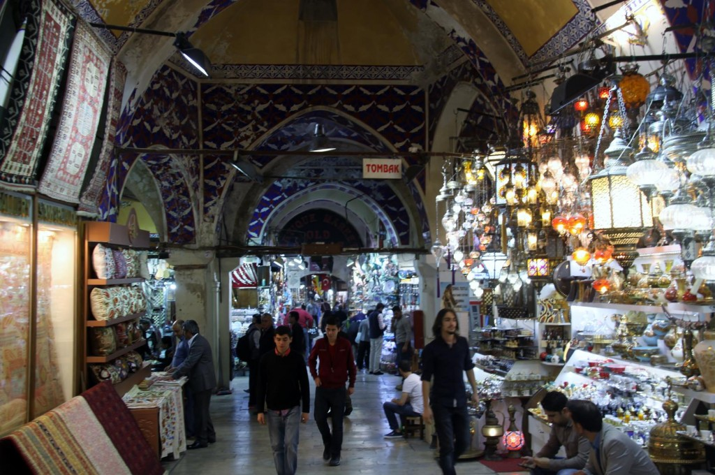 It is Always Interesting in the Grand Bazaar