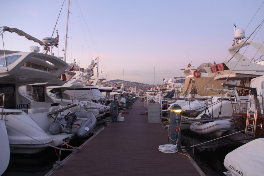 Back to the Tangaroa in the Pendik Marina
