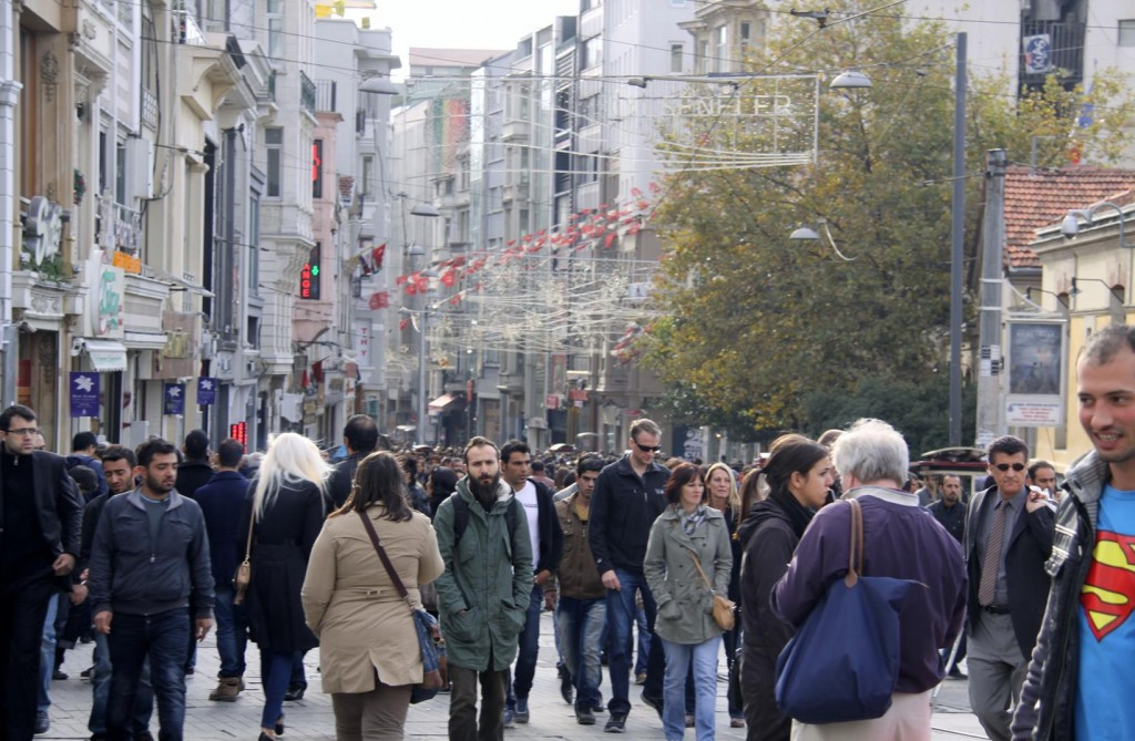 The Famous Istiklal Caddesi