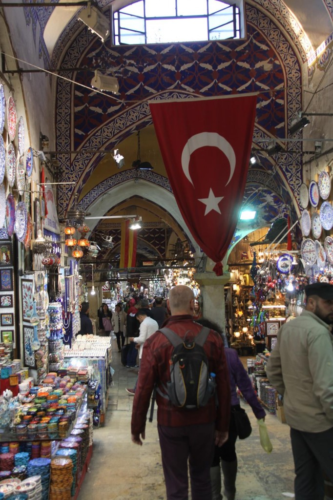 The Grand Bazaar is a Popular Tourist Site in Istanbul
