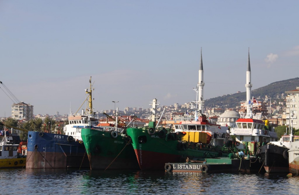 No Shortage of Colourful Trawlers to Photograph