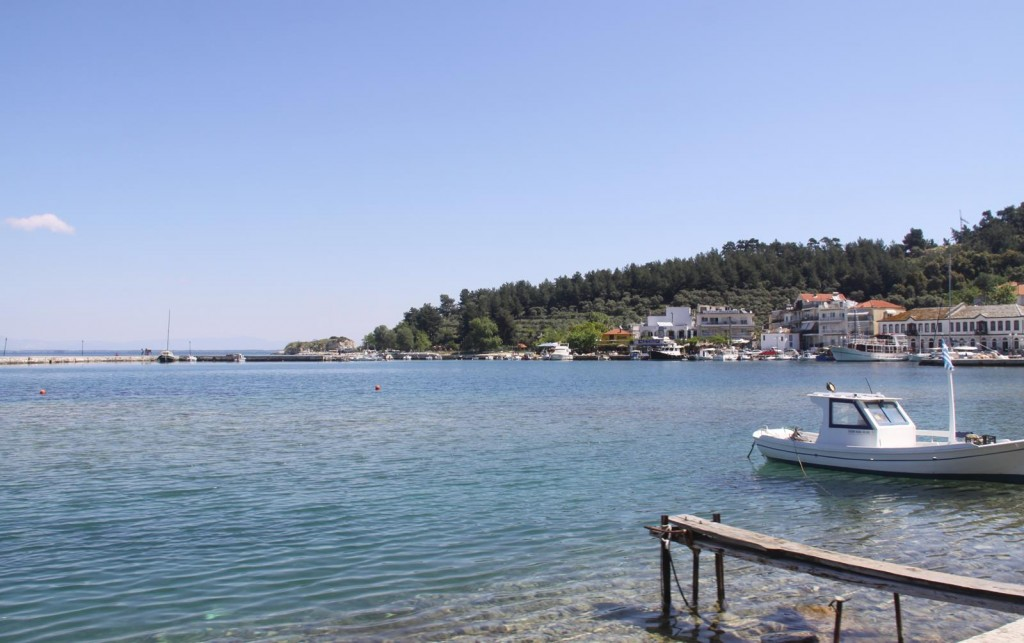 The Lovely Old Port of Thasos