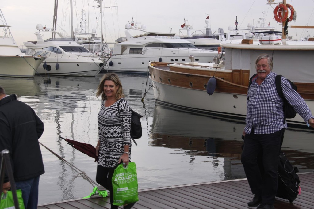 Our First Guests for the Season, John and Diana Arrive Early Morning