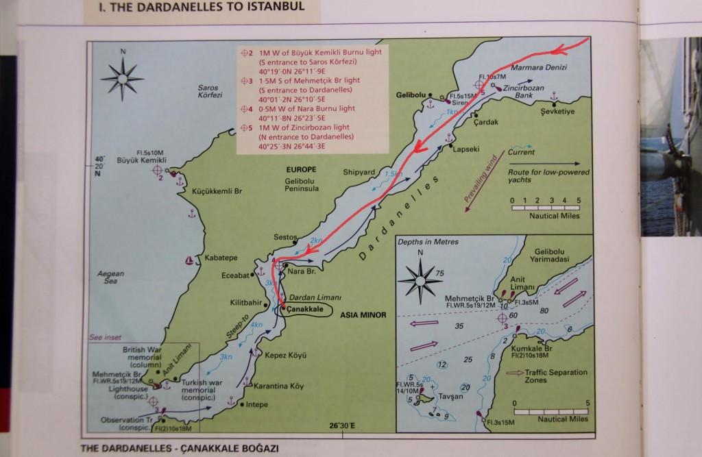 Marmara Island to Canakkale