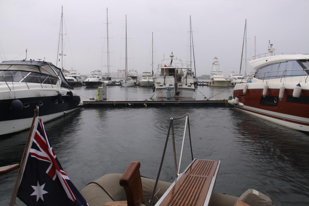 Soon after Settling in our Friends we Depart the Pendik Marina
