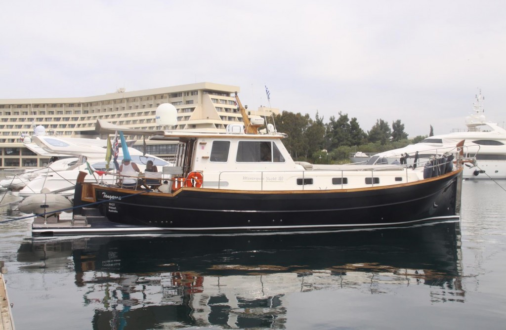 Tangaroa in Port Carras
