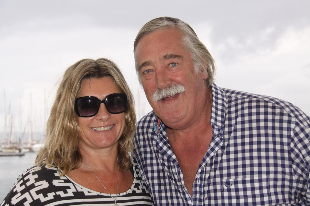 John and Diana Surprisingly Look Well Rested Despite their Long  Flight from Australia