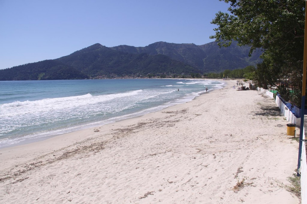 Thasos Island has some Beautiful White Sandy Beaches
