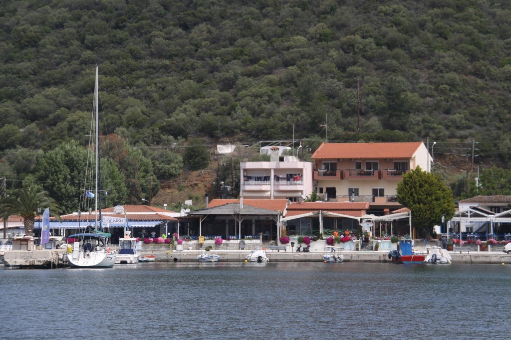 Porto Koufo is a very Attractive Small Greek Port  with few Houses and Tavernas along the Shore