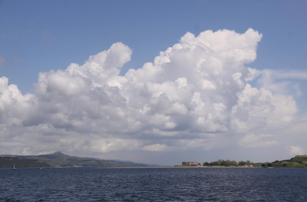 Once Past the Fort on the Eastern Side of the Dardenelles, Canakkale is Close By