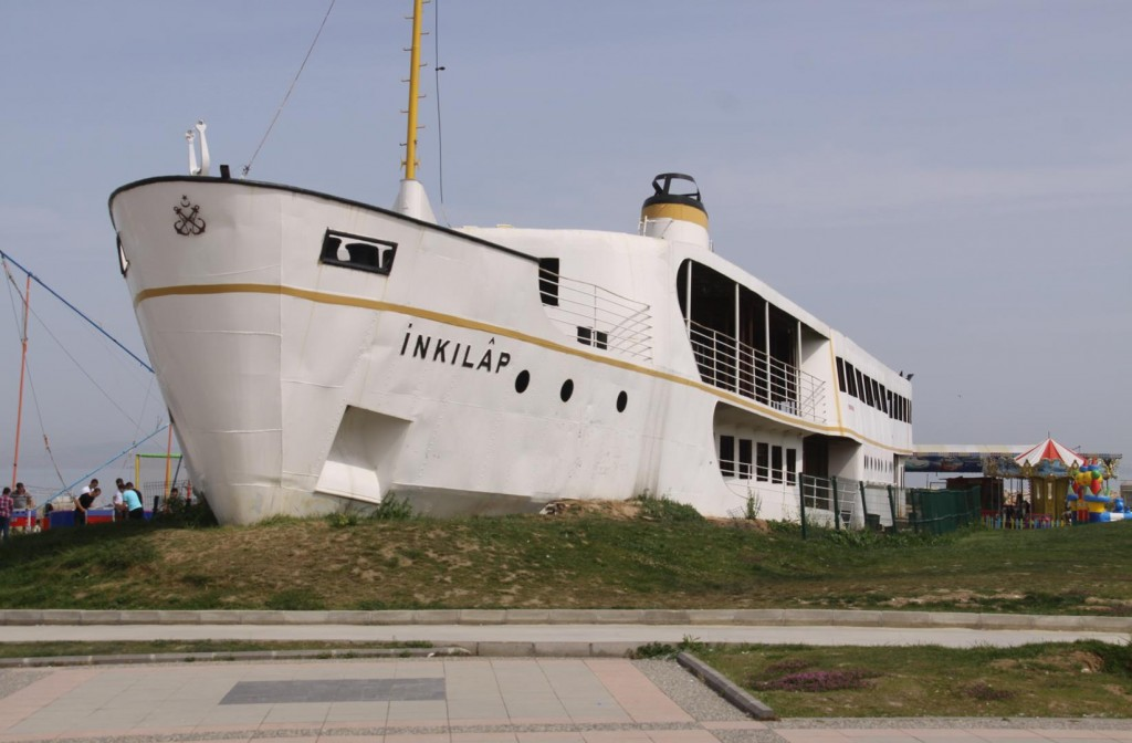 The INKILAP Sits Proudly in Her Resting Place by the Seas
