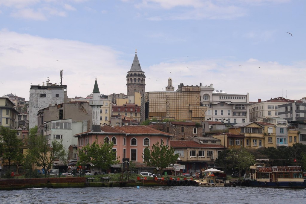 The Galata Tower is a Popular Tourist Site and is the most Recogizable Feature on the Golden Horn