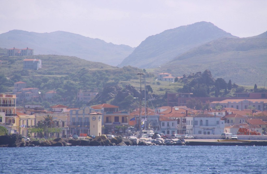 Mirna is the Main Port of Limnos Island