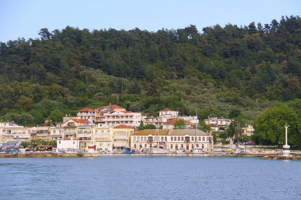 Port Thasos was Built on the same Site as the Ancient City