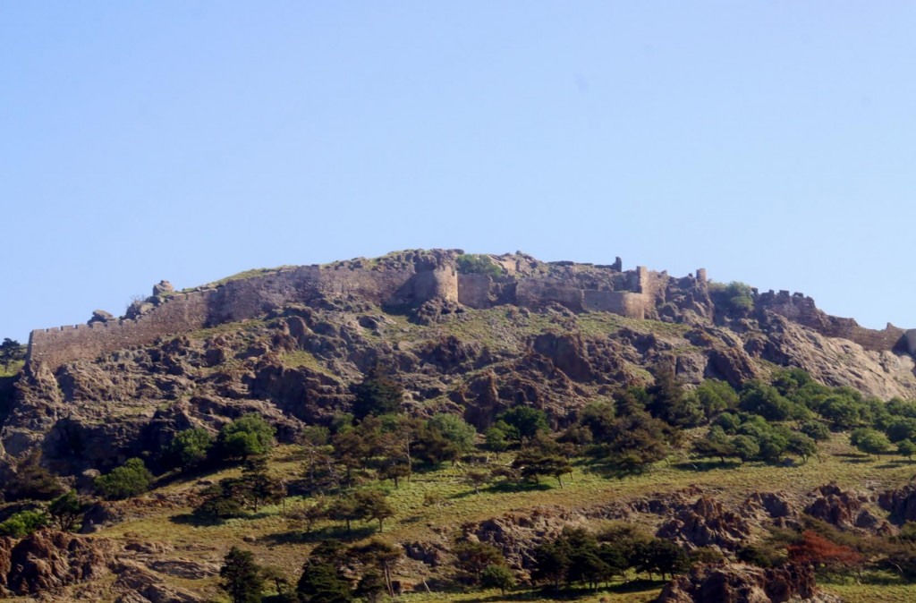 The Medieval Castle Overlooking the Mirina Port
