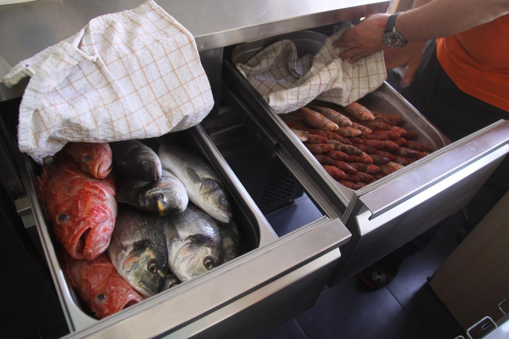 The Immaculate Drawers of the Freshest Fish to Chose from