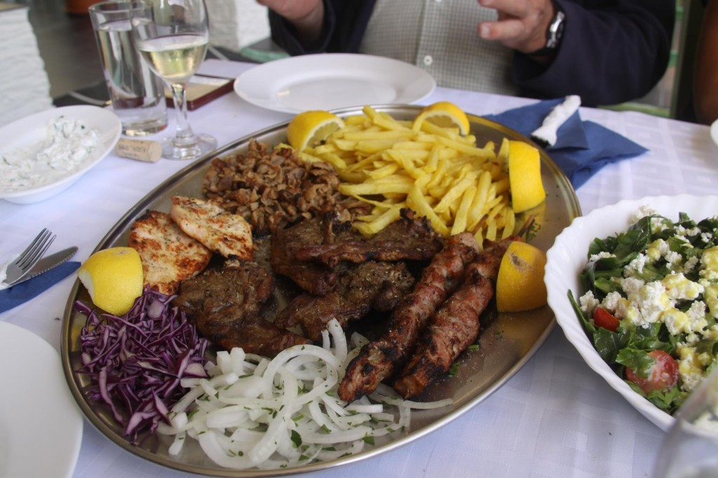 A Mixed Platter of Meat Specialities for the Men