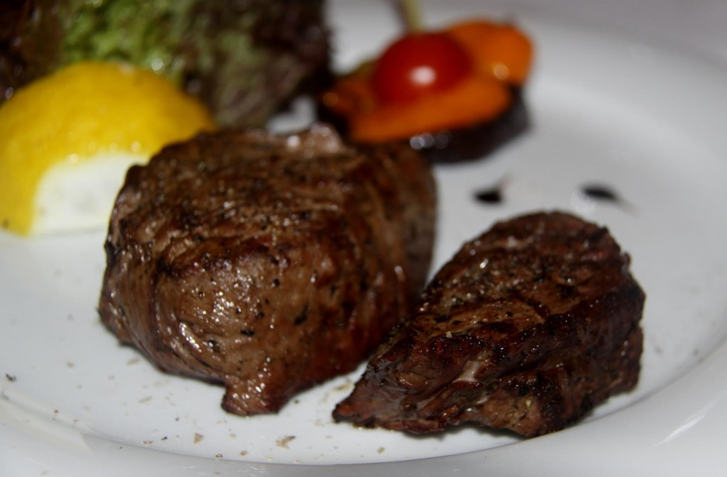 A Generous Portion of Eye Fillet  on the Menu