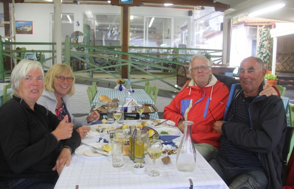 A Lovely Friendly Table of Visitors from Holland also Enjoying Lunch Today