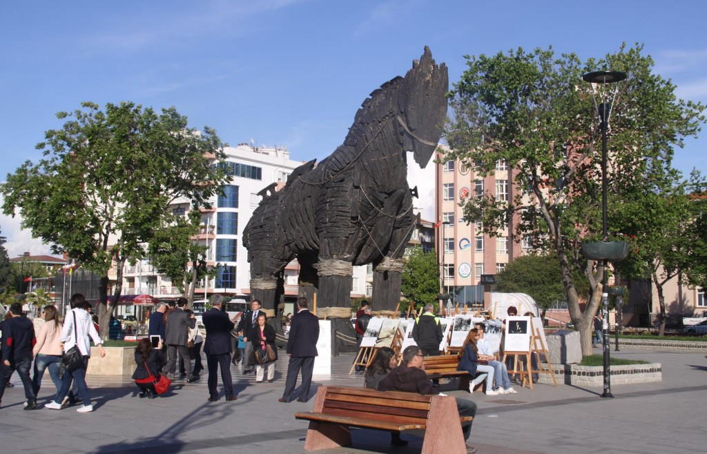 The Trogan Horse is Significant to this Area as the Ancient Site of Troy is only a Few Kms from Canakkale