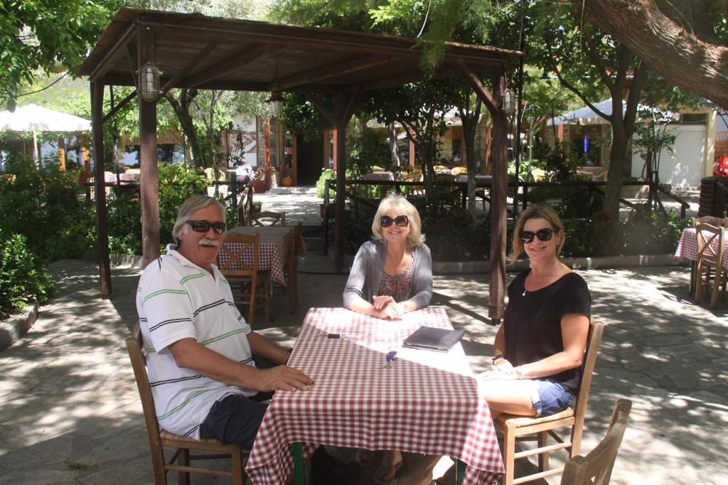 After Arriving in the Port of Moudhros we Unameously Decided to Stop and have a Late Lunch