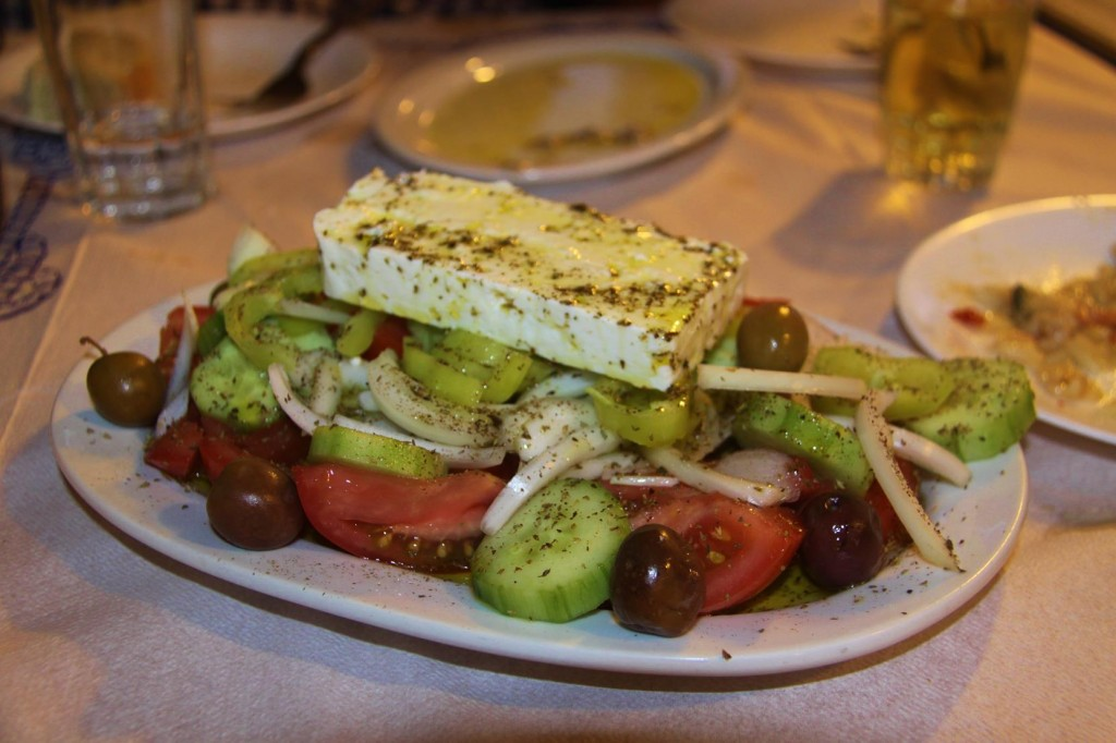 Wonderful Greek Salad