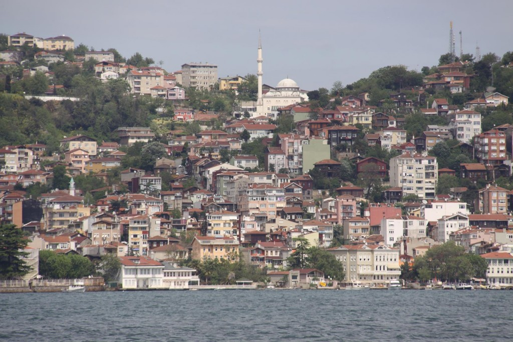 Bebek Harbour is one of the Few Places Where one can Drop an Anchor in the Bosphorus