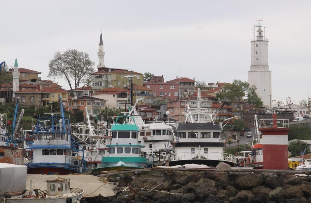 Turk Feneri is the most Northern Port of the Bosphorus Strait