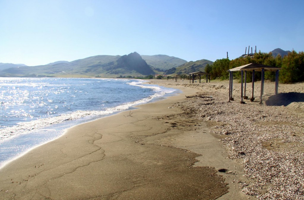 There are many Sandy  Beaches on the Island of Limnos