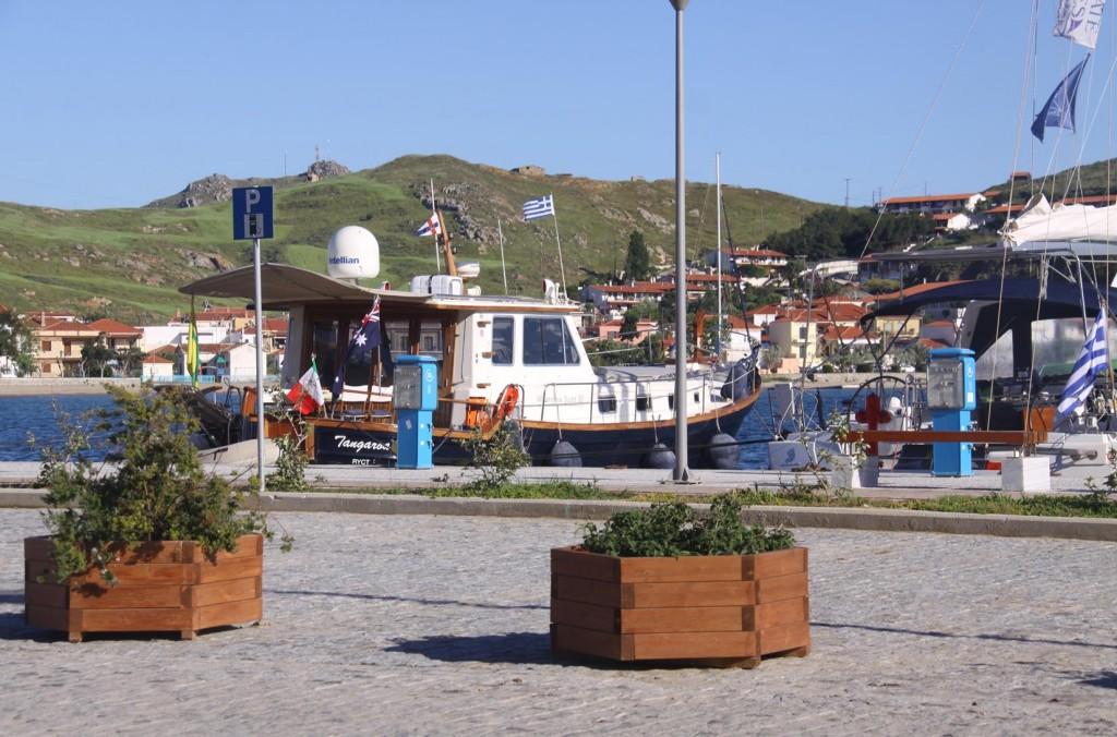 We Return to the Mirina Port