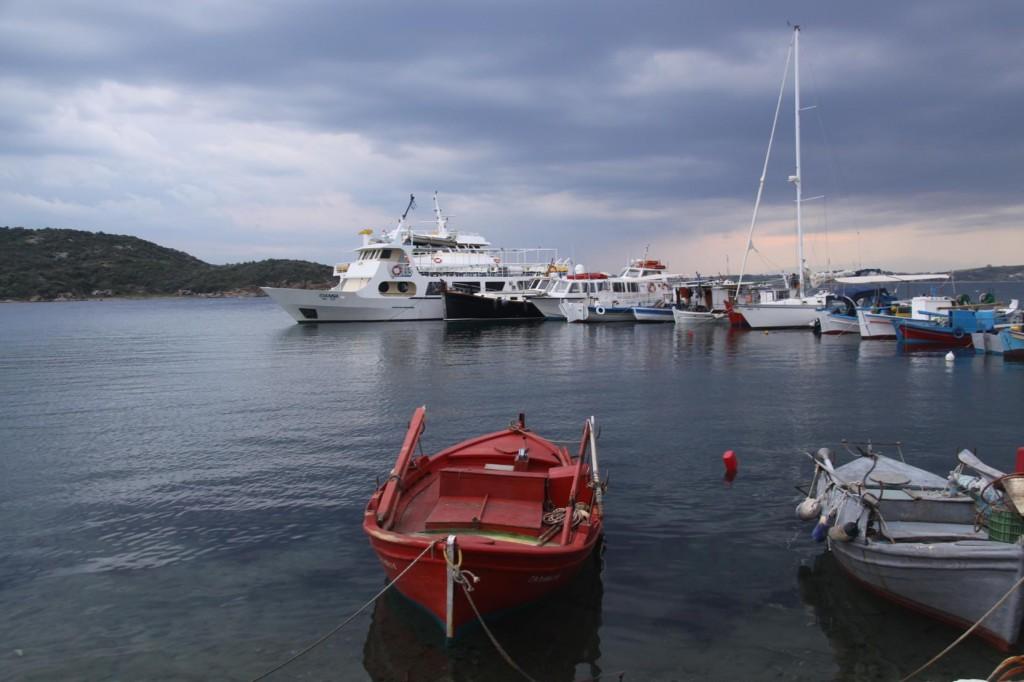 Ammouliani Port