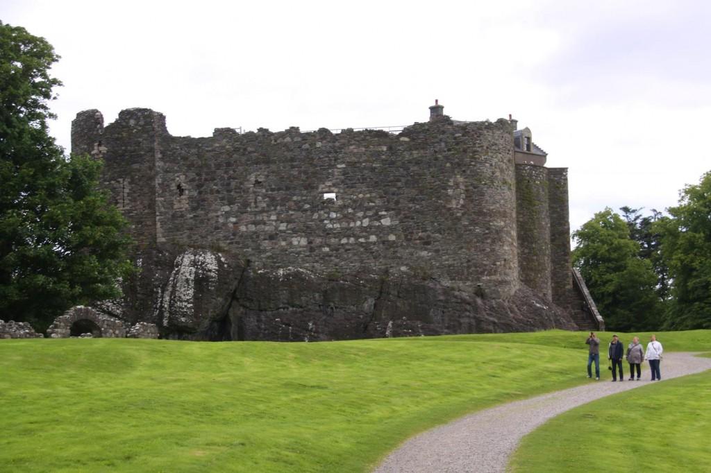 Dunstaffnage Castle just North of Oban was Built in 1220