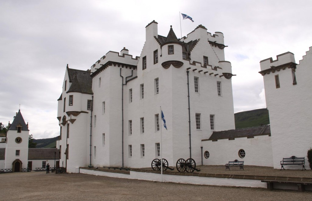 037 The Building of Blair Castle was Started in 1269
