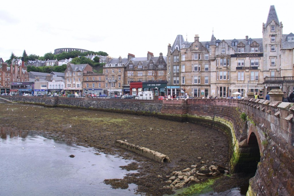 It is a very Low Tide at Oban