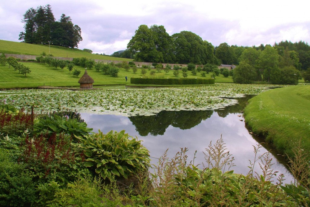 058 The Beautiful Hercules Garden of Blair Castle Have Been Exquisitly Well Maintained Over the Years