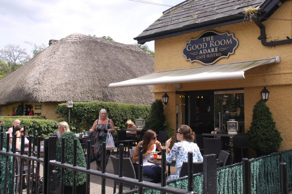 The Small Town of Adare, South East of Limerick is a Popular Stop for Lunch