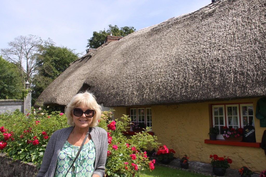 Thatched Roofed Houses in Adare