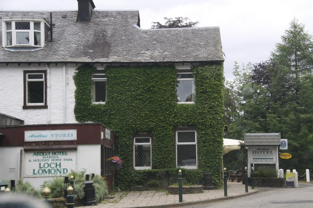 One of the Many Hotels in Loch Lomond