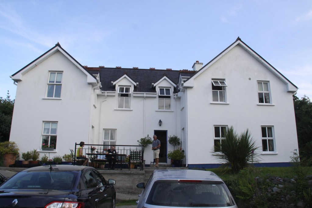 Once in Killarney we Arrive at our B&B Guaire House